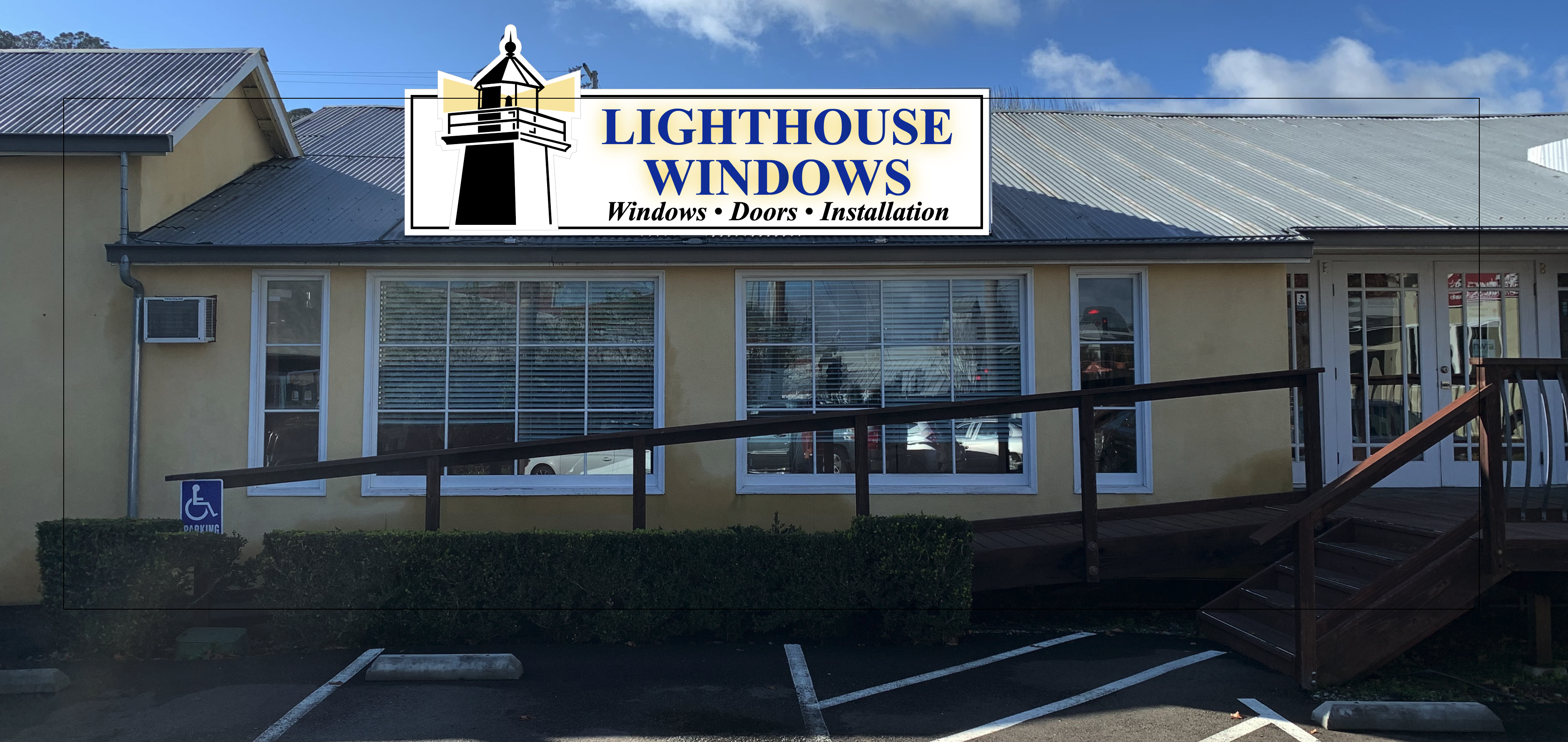 Lighthouse Windows Storefront 1