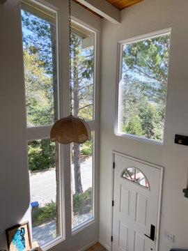 after milgard tuscany patio door replacement interior view 1