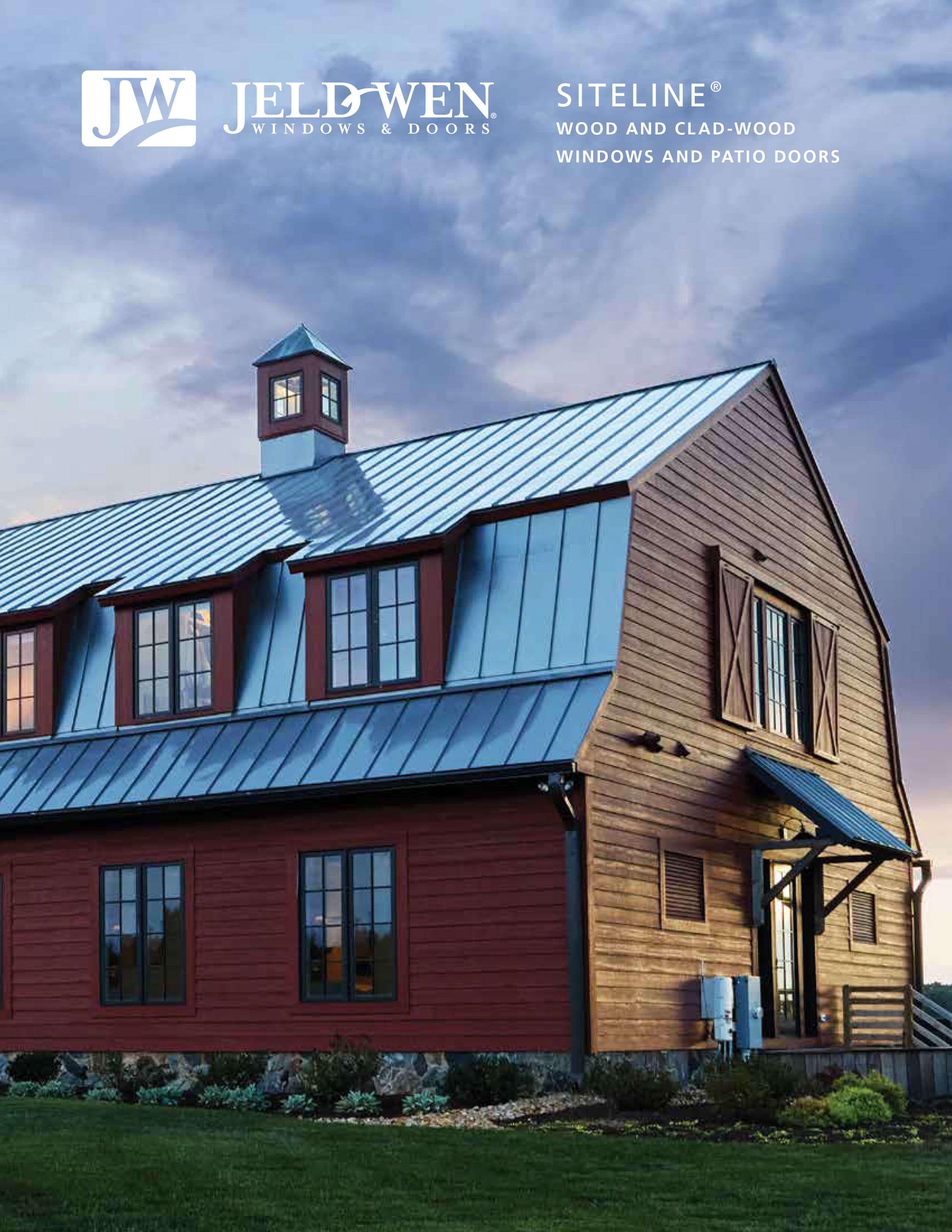jeld wen siteline wood and wood clad windows catalog 2021 1