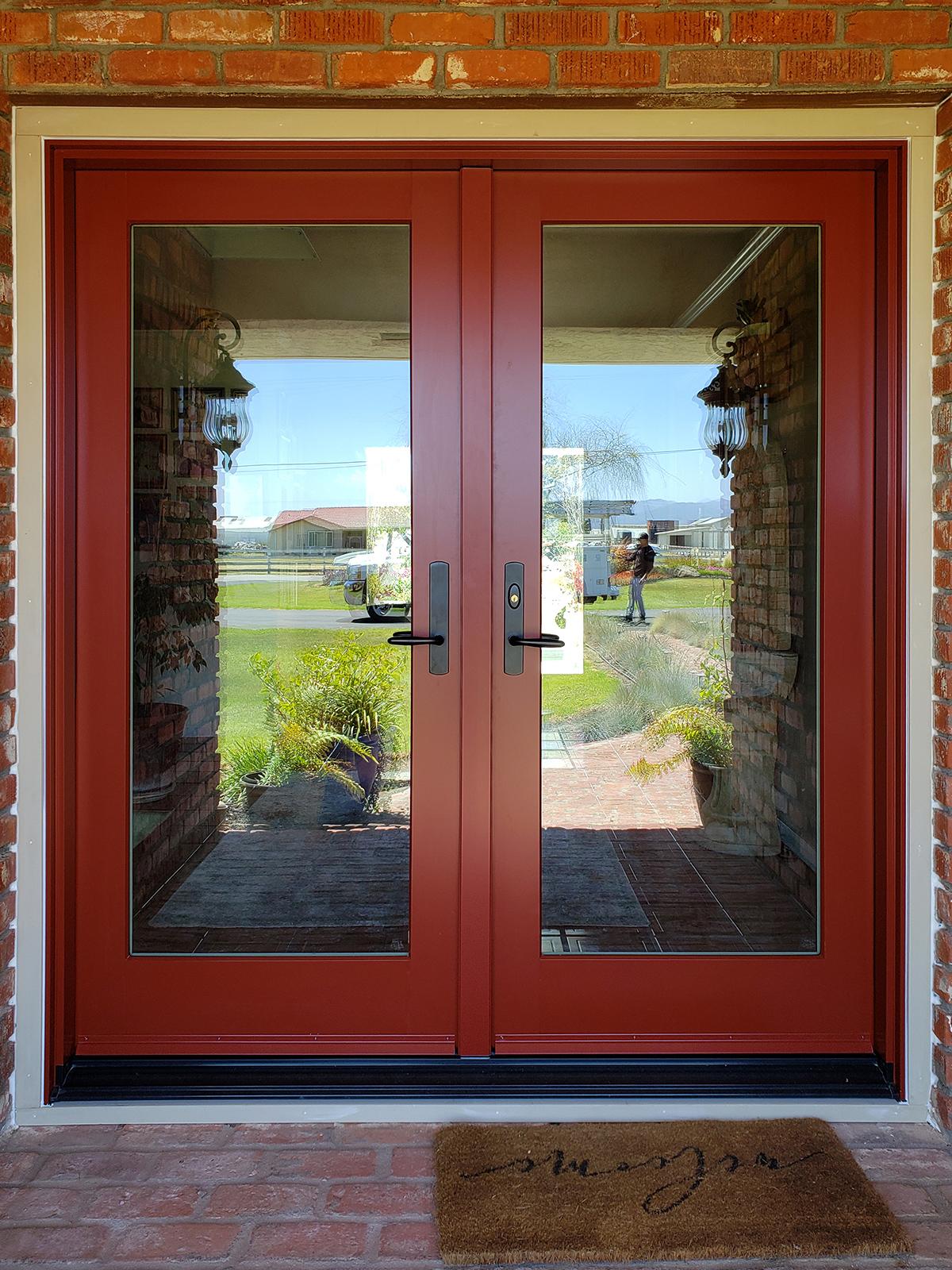 Lighthouse Windows Salinas jeld wen siteline entry door exterior view 1